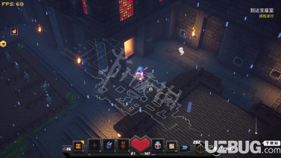《我的世界地下城》游戏中蘑菇岛关卡怎么解锁