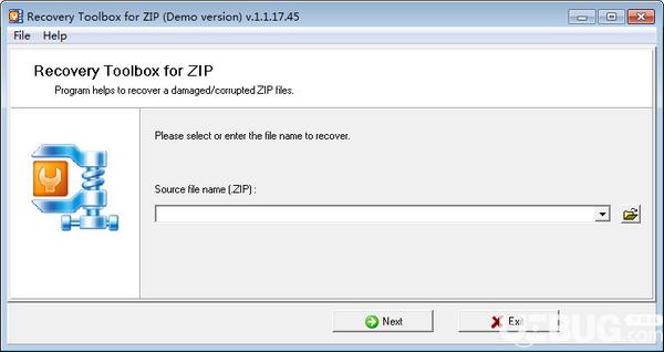 Recovery Toolbox for ZIP(ZIP文件修复工具)