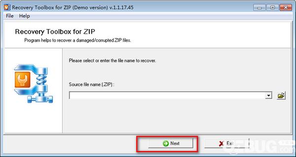 Recovery Toolbox for ZIP(ZIP文件修复工具)v1.1.17.45免费版【4】