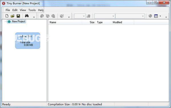Tiny Burner(DVD刻录软件)v1.0.0.202免费版
