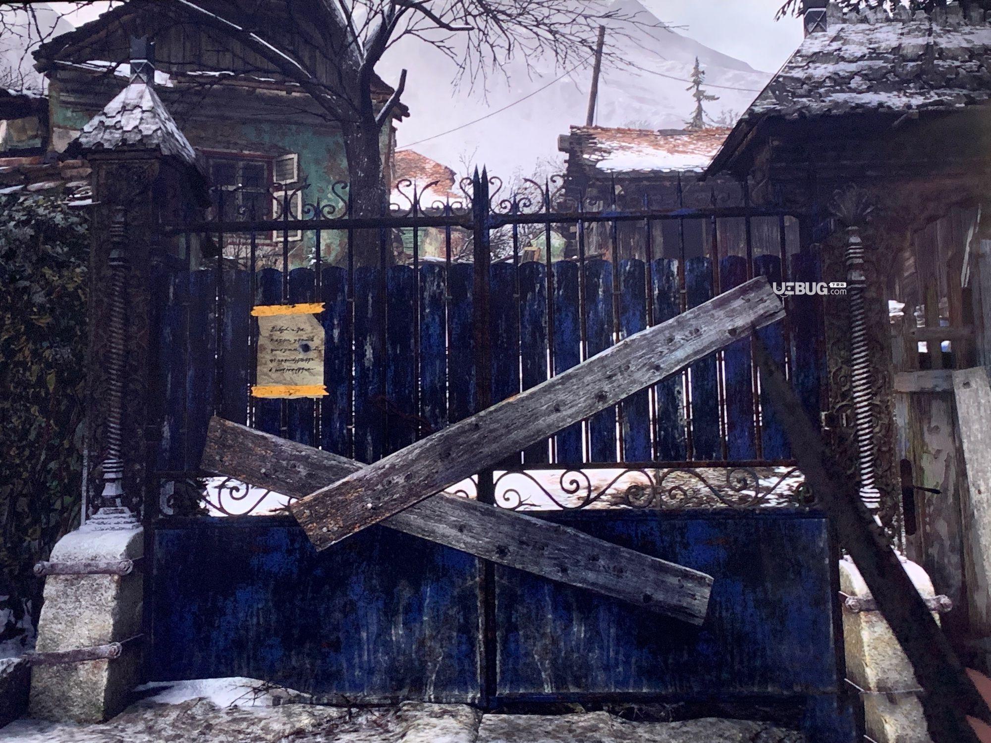 《生化危机8村庄》游戏中房屋有木板挡着怎么解决