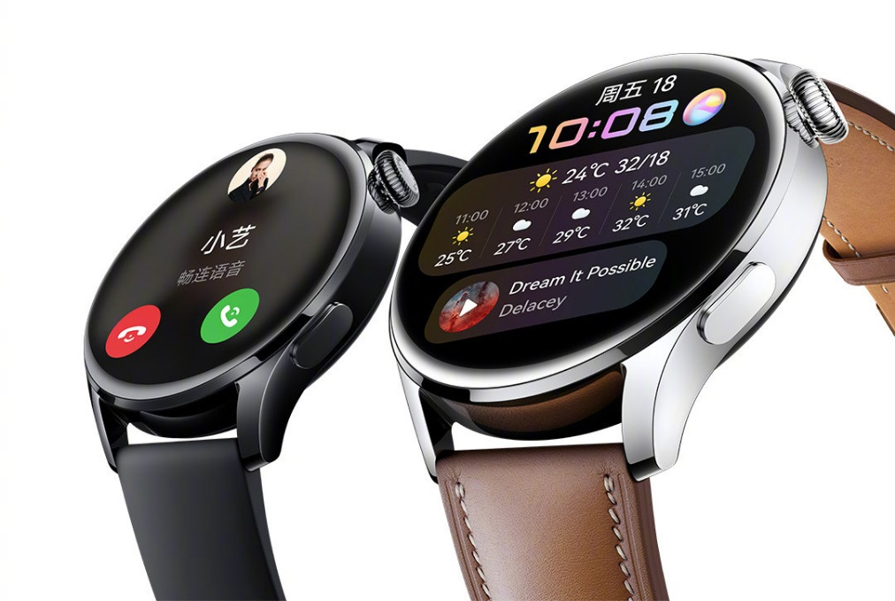 《华为watch3手表》怎么开启微信通知